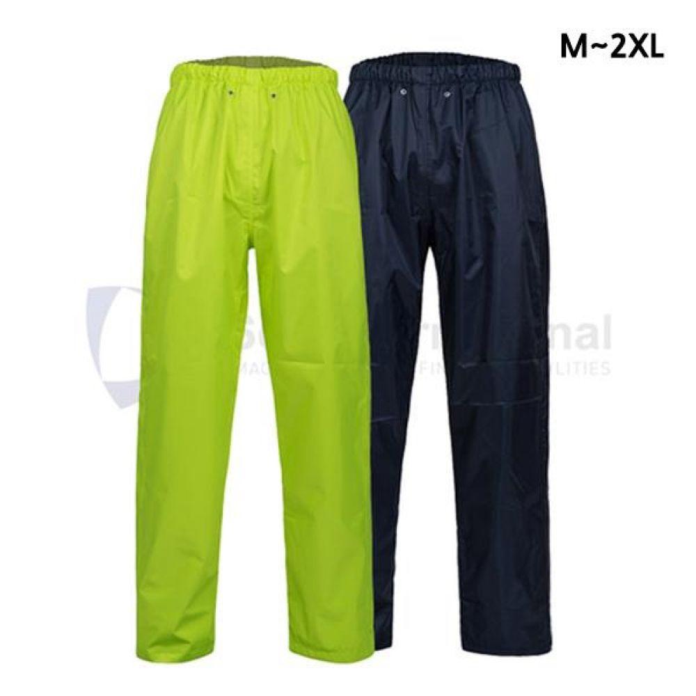 제비표 우의 Si-170PT 산업용 우비 하의 비옷 M_2XL 개인보호구 보호복 우의 비옷 분리식우의 남성레이코트 남성비옷 하의