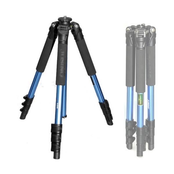 주시노 X-2340 트레블러 삼각대 블루 (4단) 카메라삼각대 스마트폰삼각대 여행용삼각대 맨프로토 짓조