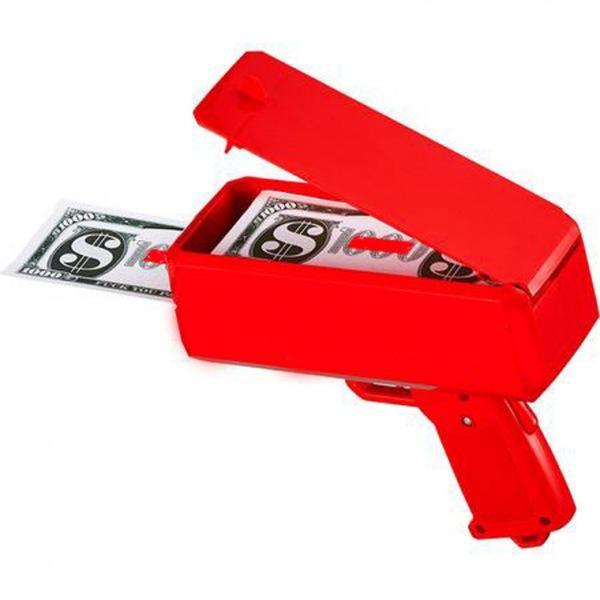 슈프림건 머니건 돈총 지폐나오는 장난감총 머니건 돈뿌리는총 슈프림건 슈프림머니건 돈쏘는총 캐시캐논 돈총 지폐총 파티용품 홈파티용품