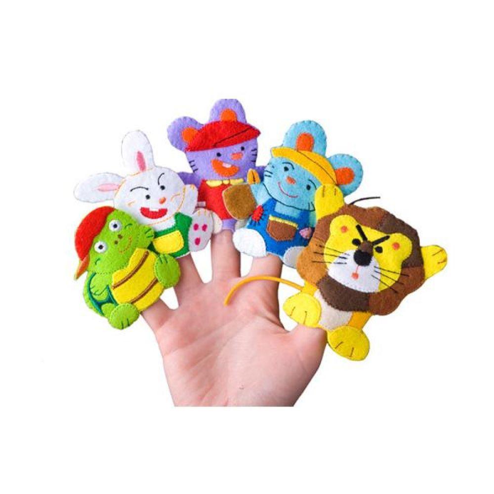 이솝이야기 손가락 인형 완구 문구 장난감 어린이 캐릭터 학습 교구 교보재 인형 선물