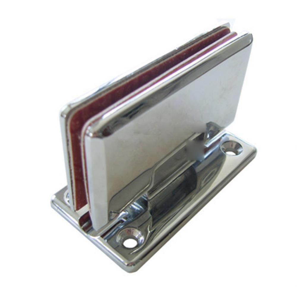 UP)유리문경첩(아연)-T자(10-12mm용) 생활용품 철물 철물잡화 철물용품 생활잡화