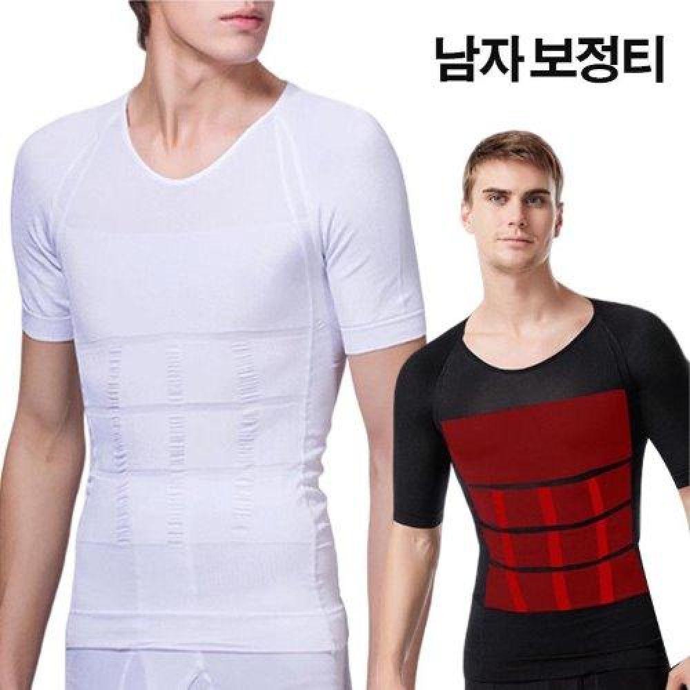 남성용 히든핏 반팔 보정티 LED-191 남성속옷 이너웨어 보정속옷 남자속옷 나시