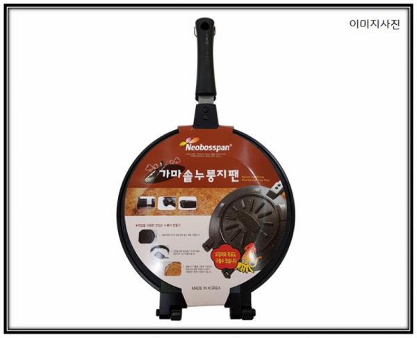 EasyCooker 원형누룽지팬 [1ea] 이지쿠커 간식팬 양면팬 누룽지팬 홈메이드