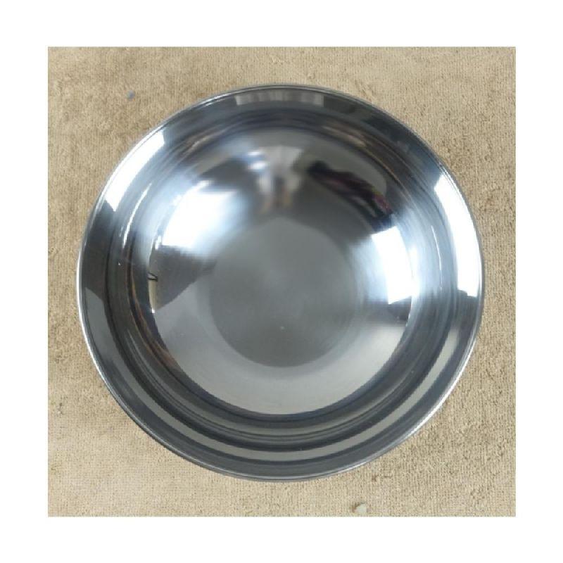 스텐비빔기(대)1입 20cm - 3EA 식기 그릇 대접 비빔그릇 냉면기 알루미늄그릇 비빔밥그릇 국수그릇 다용도그릇