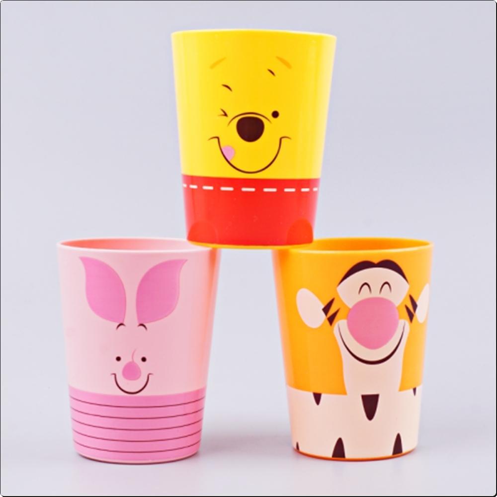 (디즈니) 곰돌이푸우 3P 컵세트 (물컵)(006402) 캐릭터 캐릭터상품 생활잡화 잡화 유아용품