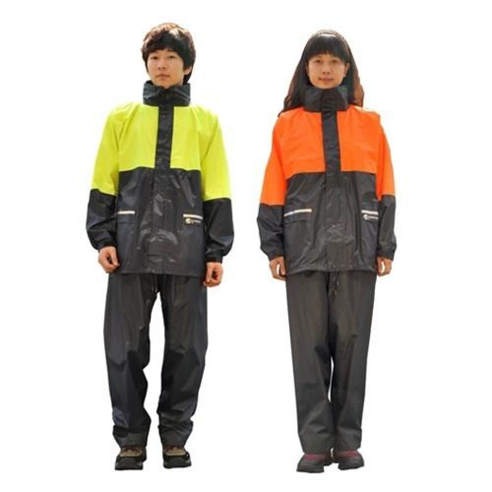 남여공용 형광 안전우의 2컬러 작업우의 우의 안전우의 비옷 우비 작업우의 안전우비 작업우비 어린이우비 어린이우의 아동우의 비닐우의 일회용우의