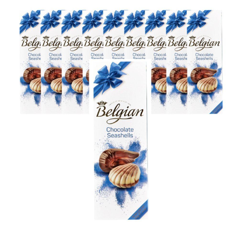 벨지안 시셀 65g X 10개입 벨지안 초콜렛 발렌타인데이 수입초콜릿 초콜릿선물