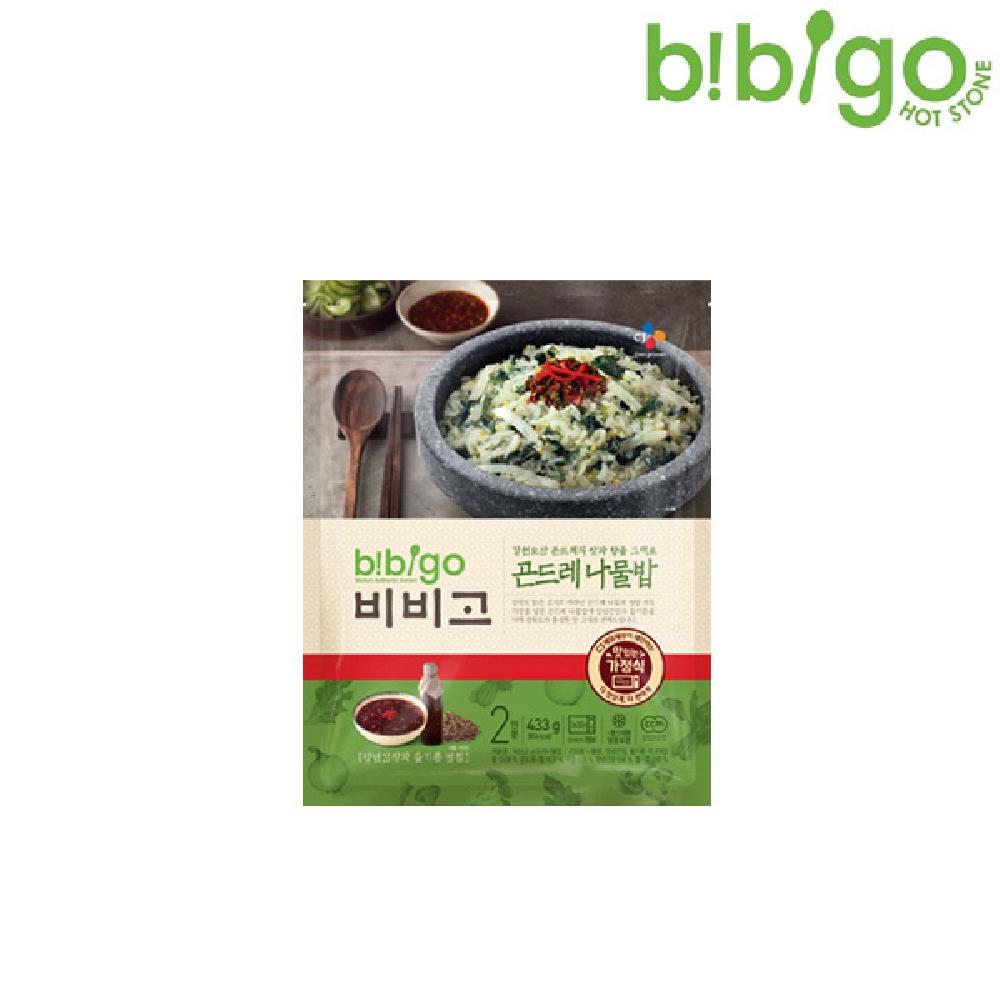 비비고 곤드레 나물밥 433g 냉동비빔밥 즉석밥 간편식 즉석조리비빔밥 즉석냉동비빔밥