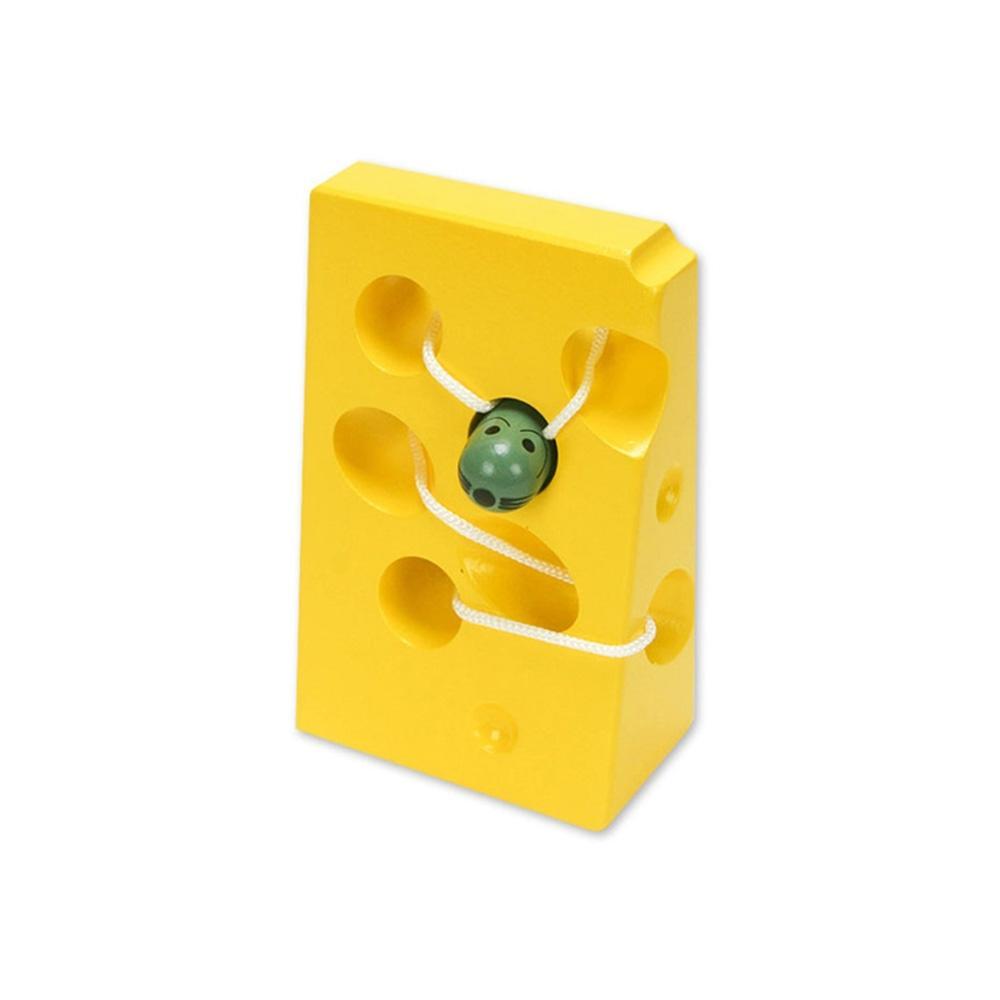 선물 유아 어린이 놀이 실꿰기 치즈 아이 장난감 조카 퍼즐 블록 블럭 장난감 유아블럭