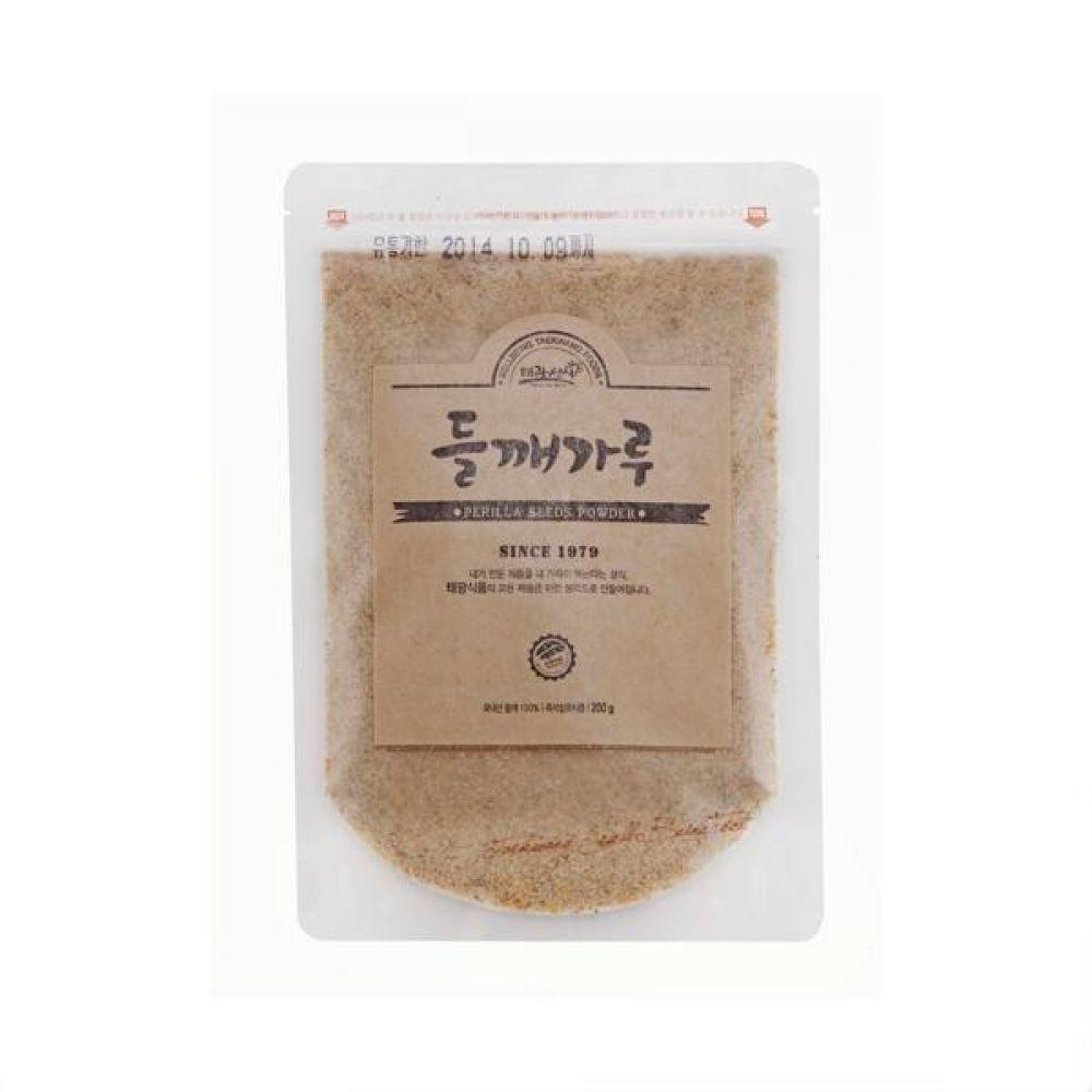 들깨가루 250g 국내산 들깨로만 만든 바른 먹거리 건강 곡물 간편식 잡곡 한끼
