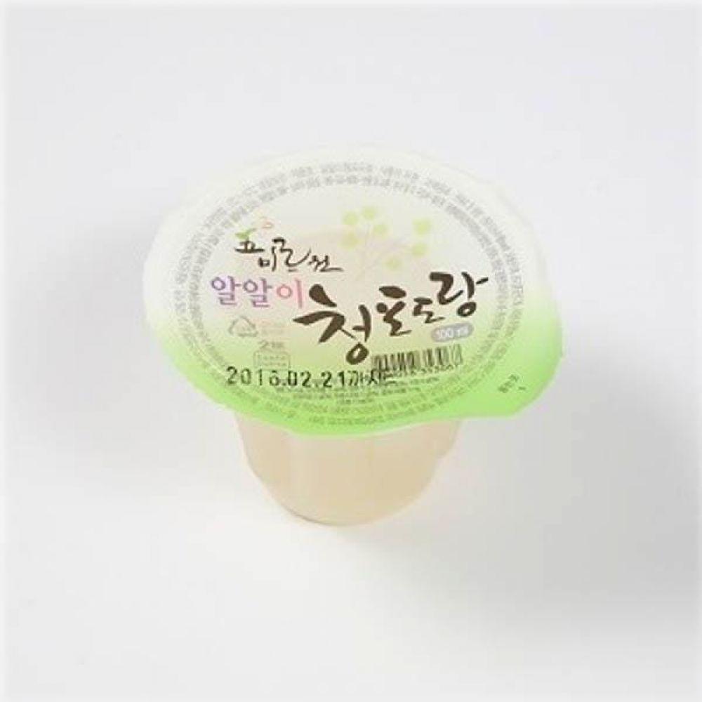 오미르원 알알이 청포도랑 100ml x 100개(1box) 음료 급식 전통 주스 후식