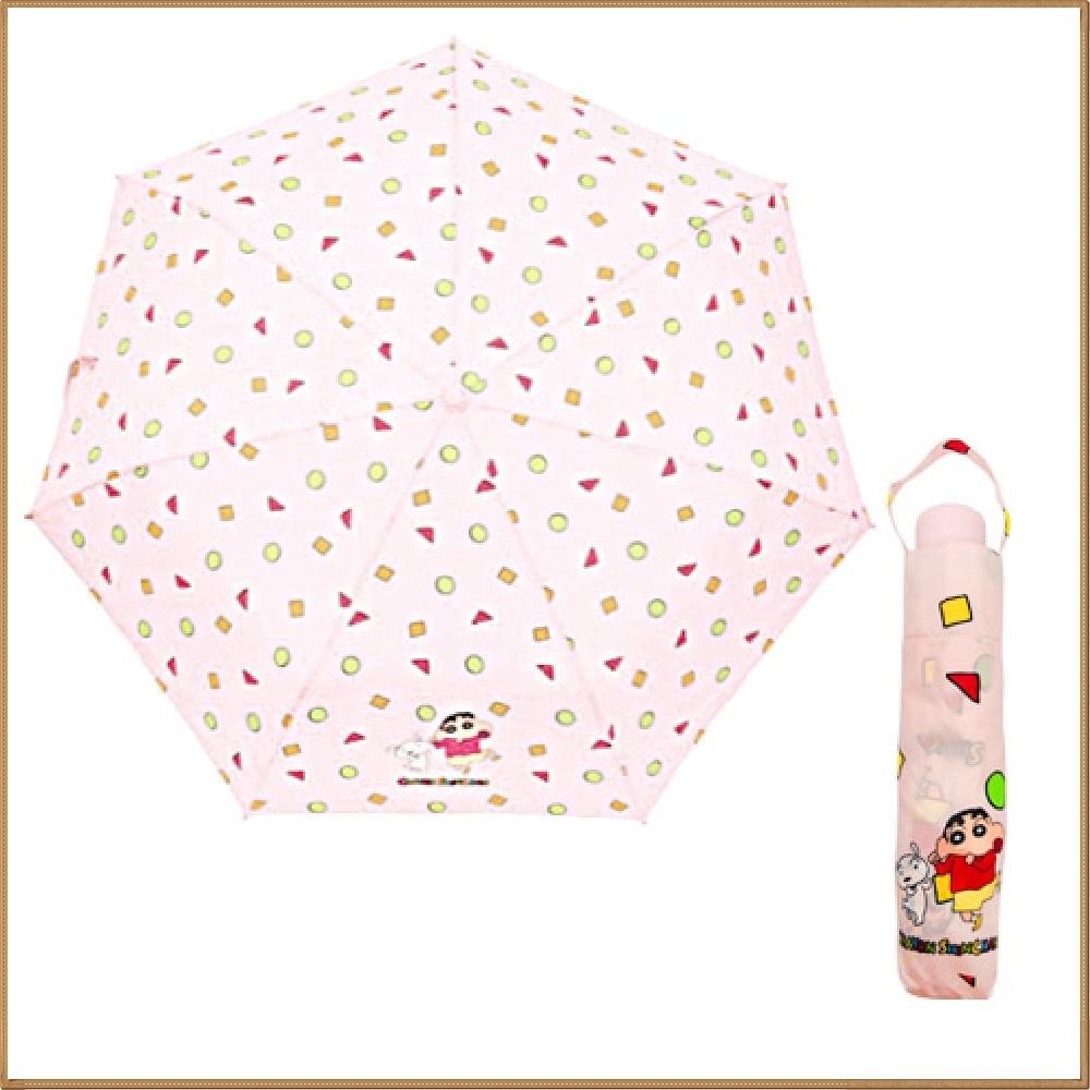 짱구는못말려 부리부리댄스 3단 수동 우산 (핑크) 캐릭터 캐릭터상품 생활잡화 캐릭터제품 잡화