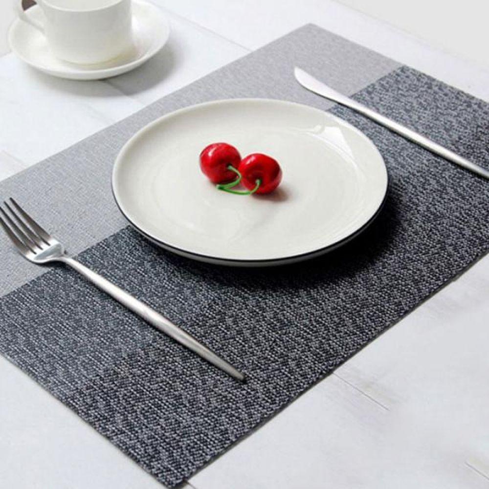 로얄 식탁매트 테이블매트 5칼라 주방잡화 도 식탁매트 테이블매트 원형매트 북유럽식탁매트 식탁테이블매트 테이블러너 식탁러너