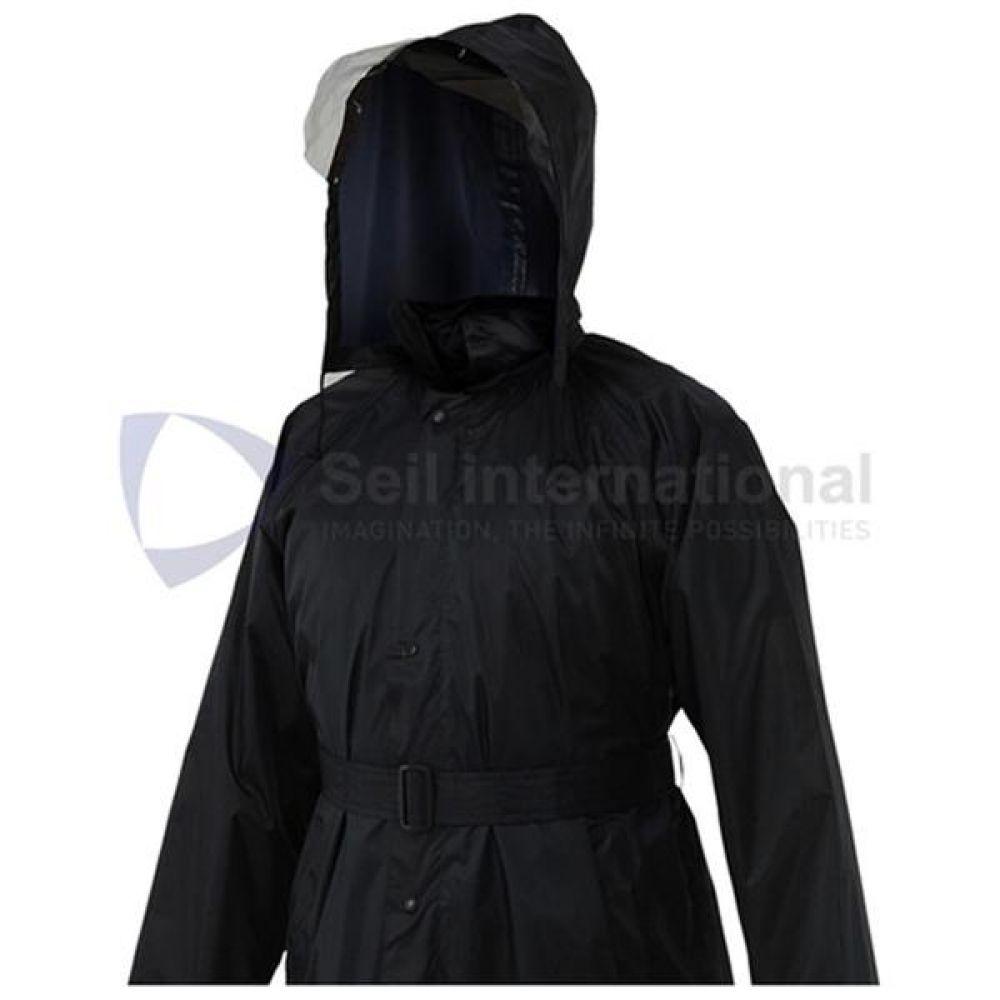 제비표 우의 Si-102 신사용 레인코트 우비 개인보호구 보호복 우의 비옷 코트식우의 남성레이코트 남성비옷