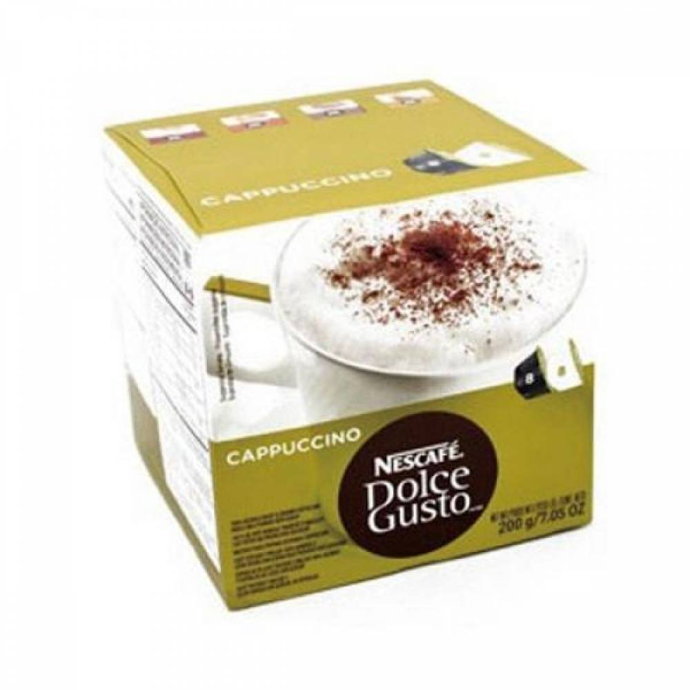 카푸치노(캡슐 돌체구스토전용 8개 8개 Box 네슬레) 814806 커피머신캡슐커피 네슬레 오피스디포 식음료