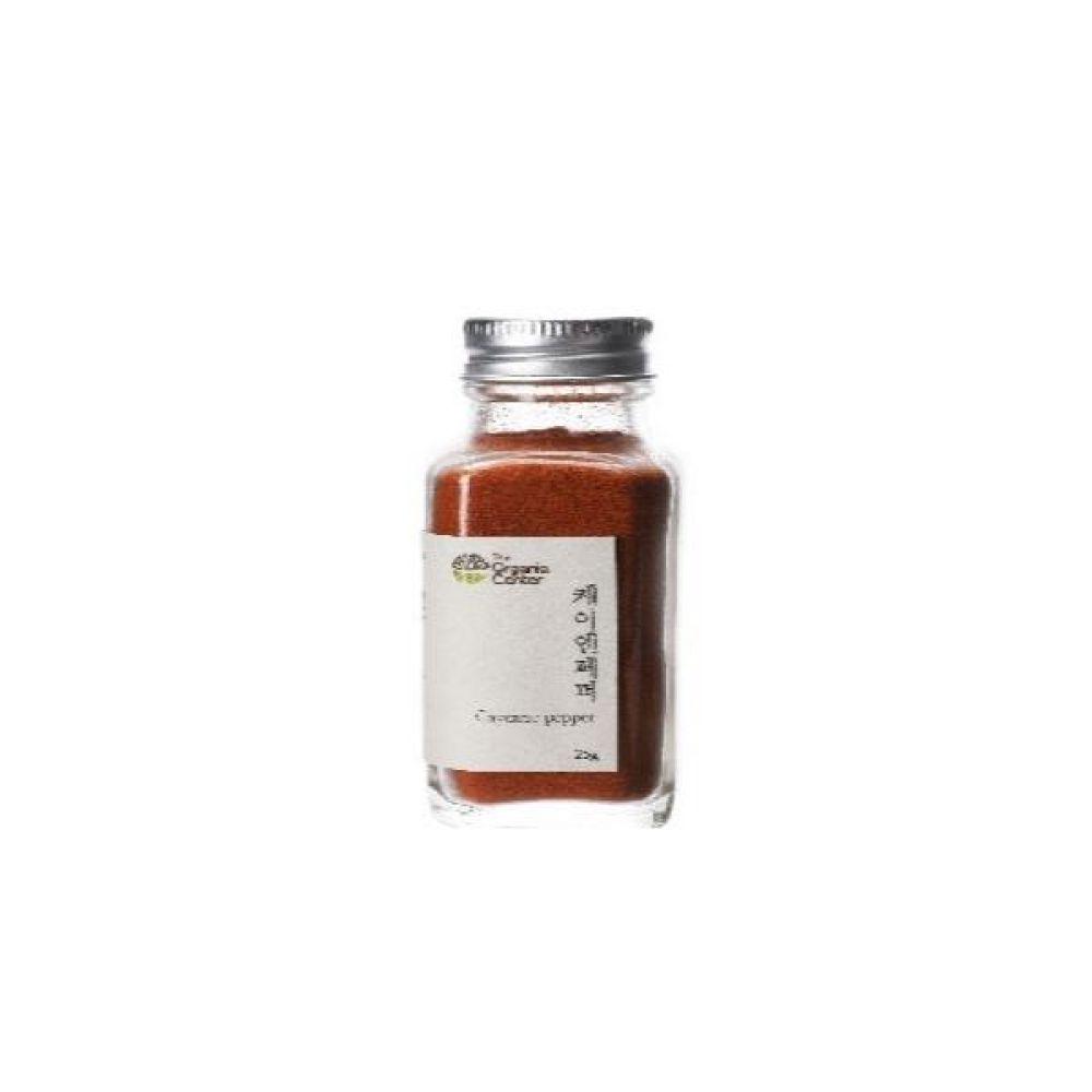 (오가닉 향신료)인도산 케이엔페퍼 25g 건강 고기 조미료 냄새 누린내