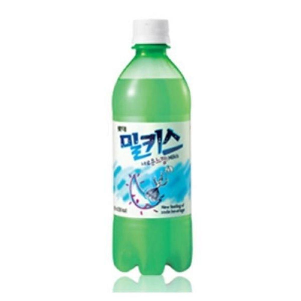 (탄산음료)밀키스 500ml x 12페트 믿을 수 있는 정품 정량 음료 음료수 음료수도매 탄산음료 밀키스