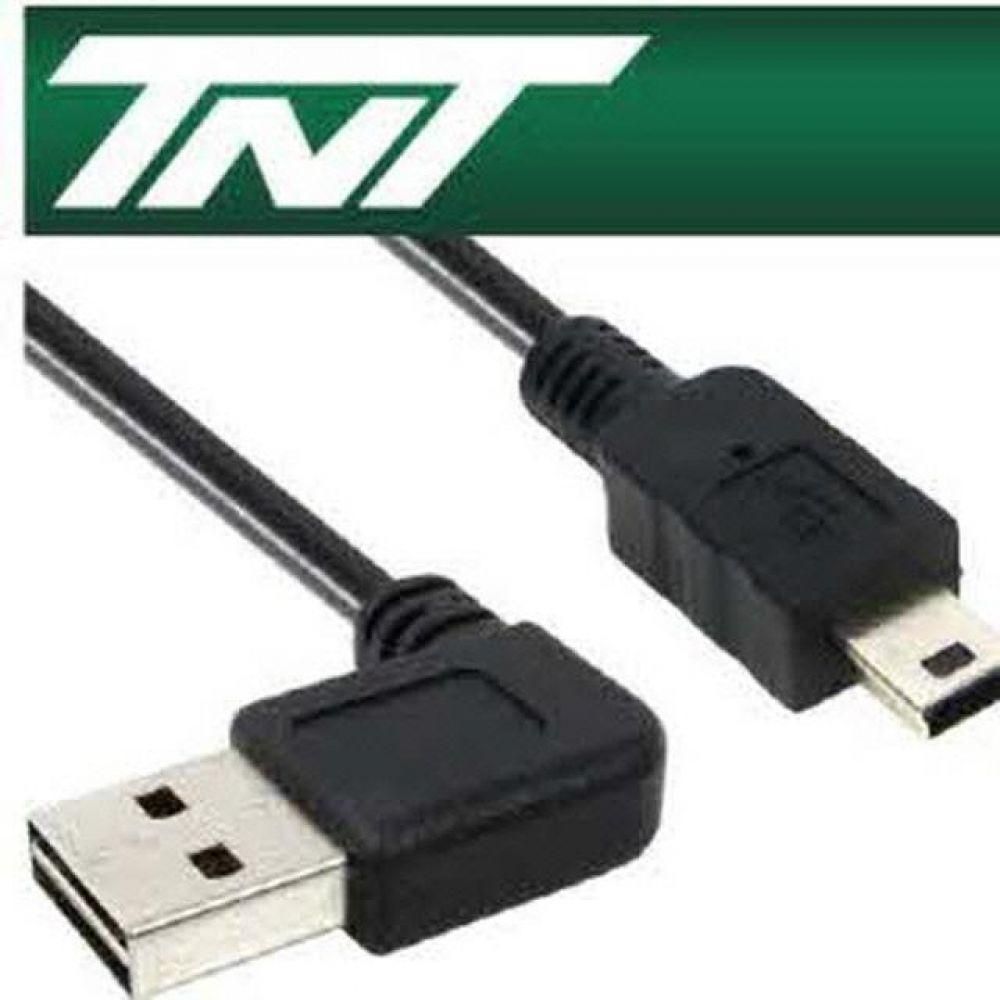 TNT USB2.0 양면인식 ㄱ형Mini 5핀 케이블 2M 컴퓨터용품 PC용품 컴퓨터악세사리 컴퓨터주변용품 네트워크용품 usb연장케이블 usb충전케이블 usb선 5핀케이블 usb허브 usb단자 usbc케이블 hdmi케이블 데이터케이블 usb멀티탭