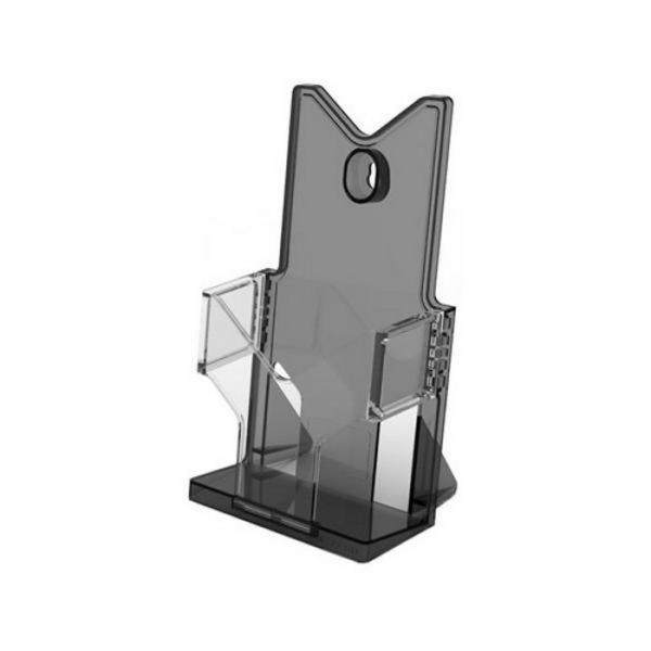 아이홀더 A6 블랙 120X87X200mm 32개입 1박스 생활잡화 사무용품 표지판 잡화 생활용품 소형간판 A6 꽂이 홀더 블랙