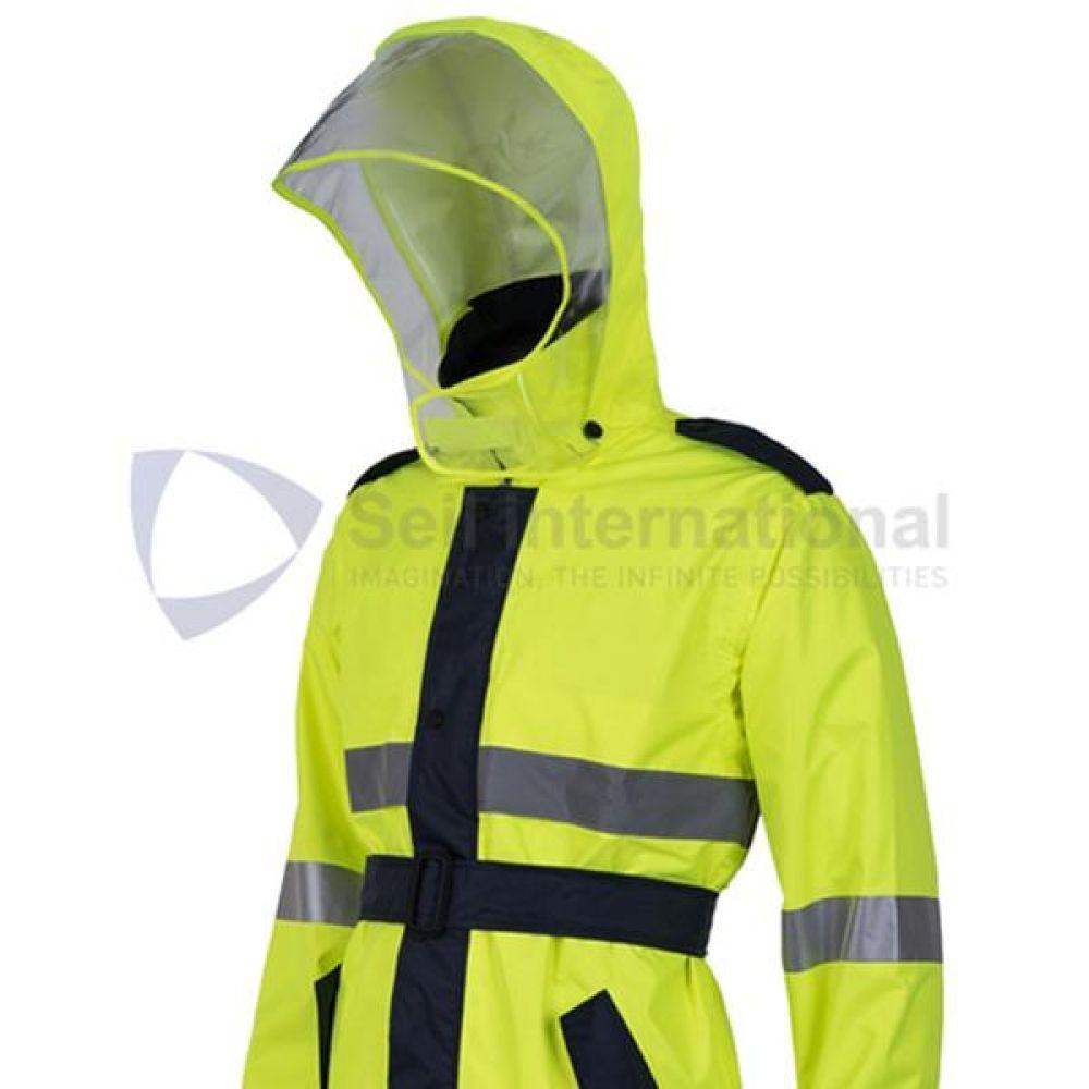 제비표 우의 Si-911C 산업용 우비 비옷 개인보호구 보호복 우의 비옷 분리식우의 남성레이코트 남성비옷