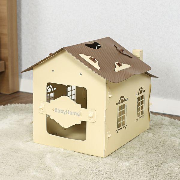 JHC컴퍼니 베이비홈 조립식 애견하우스(47 46 53cm) 강아지용품 고양이용품 애견용품 애완동물 애완동물용품