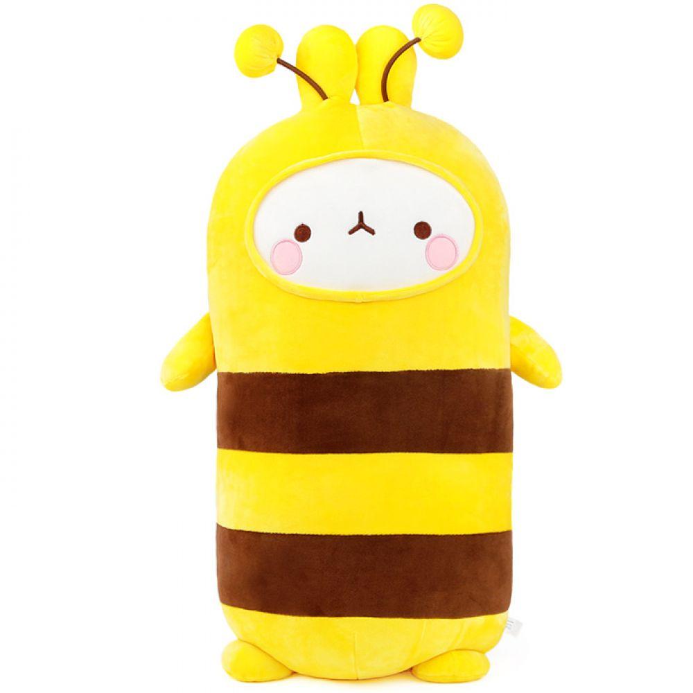 몰랑 소프트 모찌 애착 바디쿠션-꿀벌(55cm) 인형선물 캐릭터인형 봉제인형 몰랑 몰랑이 바디쿠션 롱쿠션 바디필로우 큰인형 애착인형