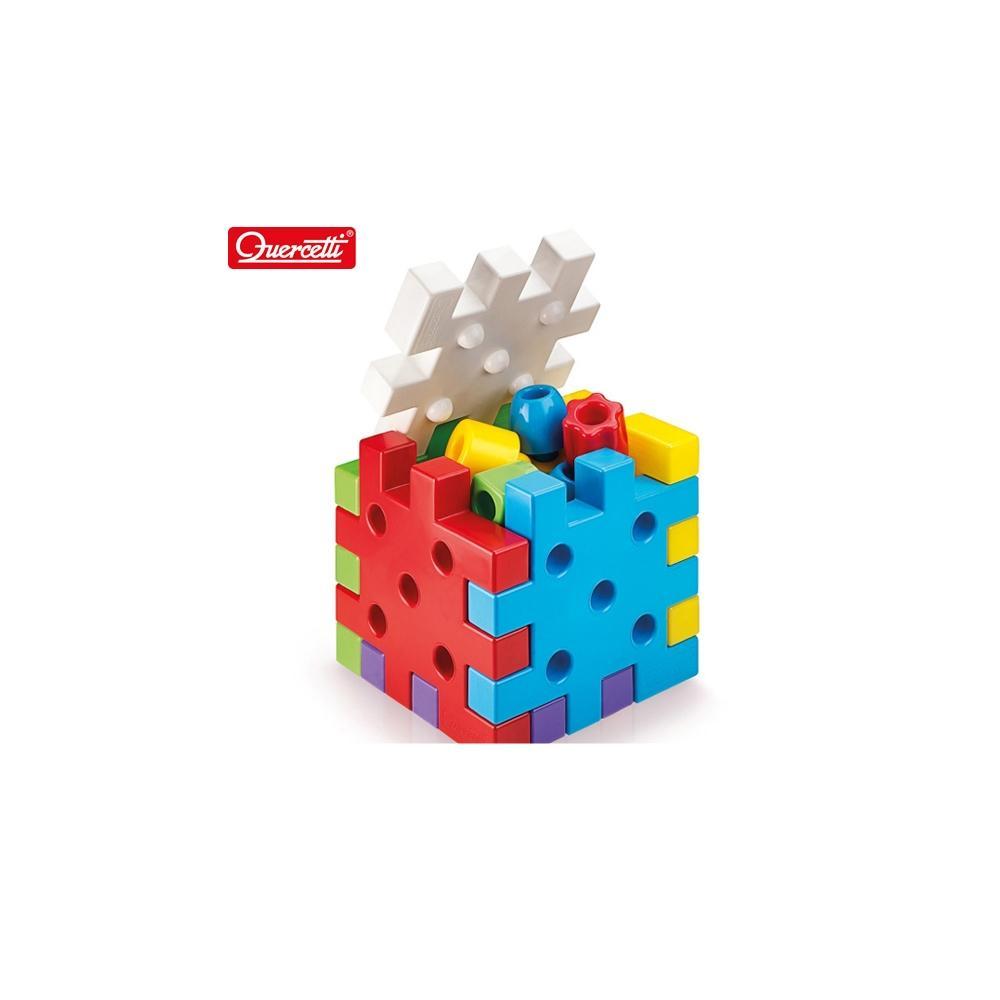 선물 어린이 유아 장난감 퍼즐 큐보 쌓기 19P 조카 초등학교 장난감 5살장난감 3살장난감 4살장난감