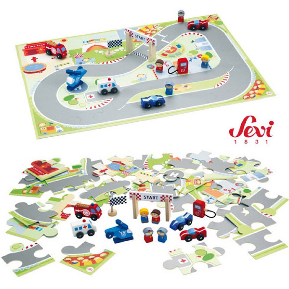 퍼즐판 F1 미니카세트 82626 아동장난감 유아장난감 퍼즐판 유아장난감 미니카세트 세비 아동장난감