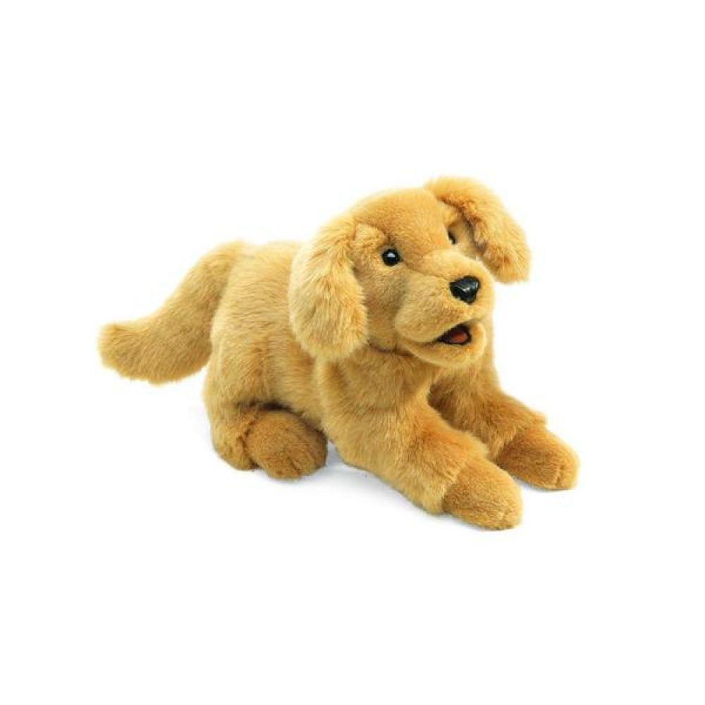 골든리트리버 고급 손인형 완구 문구 장난감 어린이 캐릭터 학습 교구 교보재 인형 선물