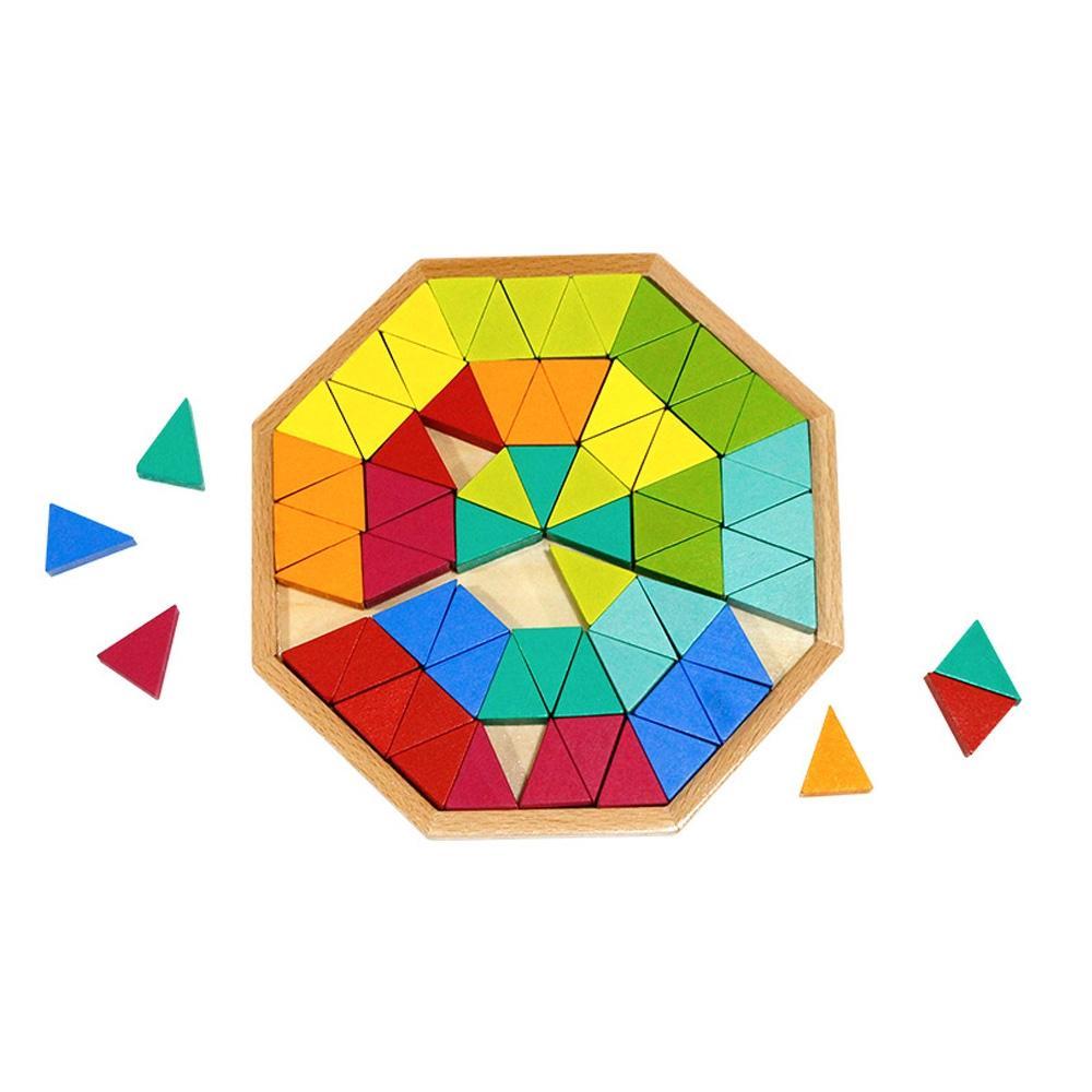 선물 유아 학습 아동 놀이 토이 옥타곤 퍼즐 74pcs 퍼즐 블록 블럭 장난감 유아블럭