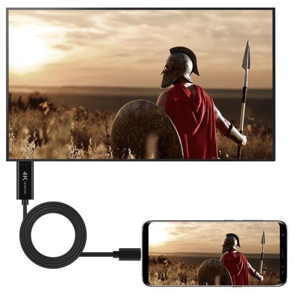 엑토 타입 C용 스마트폰 미러링 케이블 HDMI-01