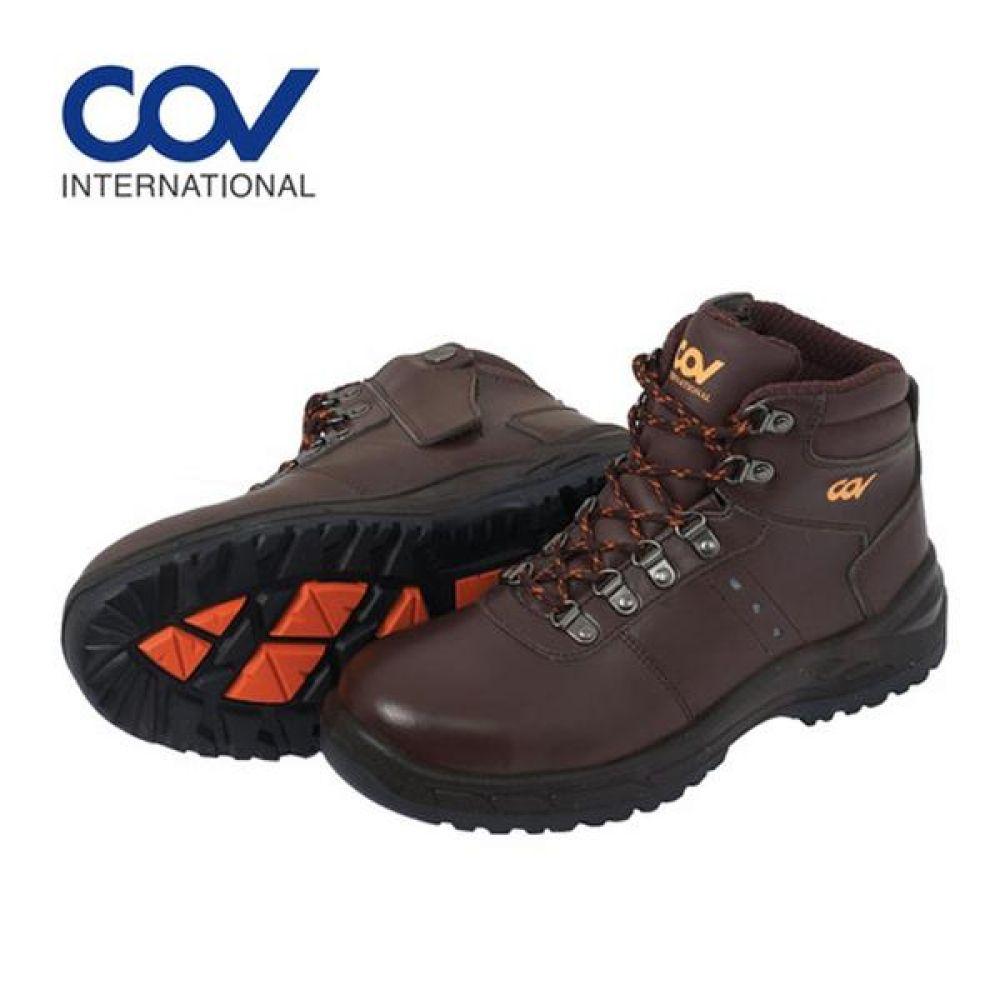 코브 COV-612 6in 보통작업용 중단화 안전화 작업화 안전화 COV 코브 가죽안전화 지퍼안전화 지퍼타입 인젝션안전화 작업화