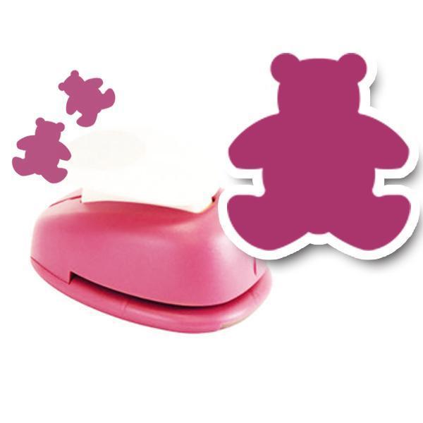 모양펀치 R-36(펀칭규격36mm이내) 005 곰 모양펀치 미니펀칭기 펀치 모양만들기 공예