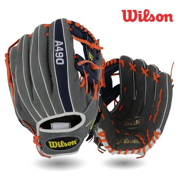 윌슨 WTA04KR18RPWSD5 A490 야구글러브 - 12인치 윌슨 글러브 12인치 A490 야구글러브