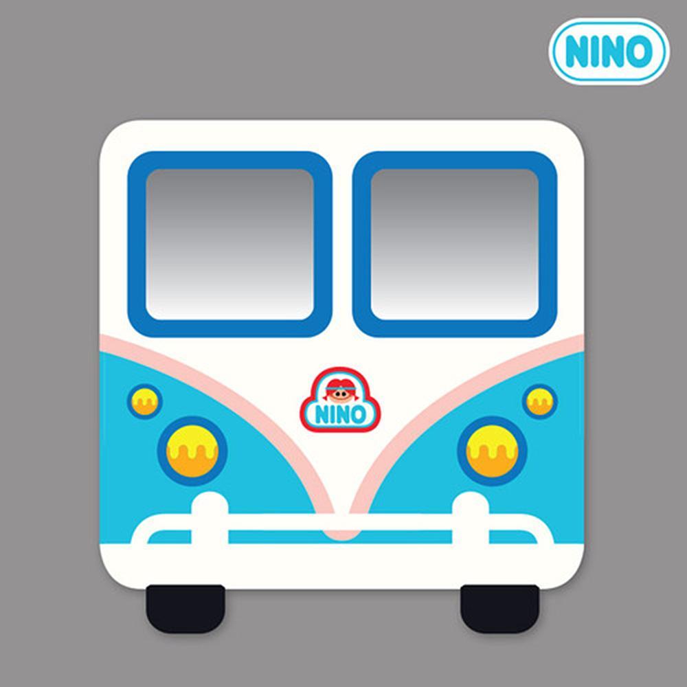 정면 아이방 안전 거울 니노 미러보드 미니버스하늘 안전거울 어린이집 유아원 인테리어소품 아이놀이