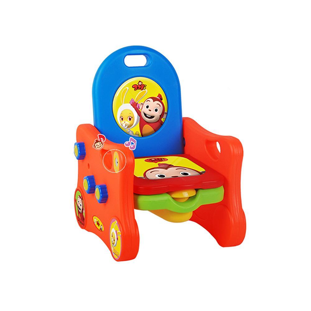 배변 아기 멜로디 쿠션 의자 변기 유아용 2세 3세 어린이집 어린이선물 조카선물 생일선물 어린이날선물
