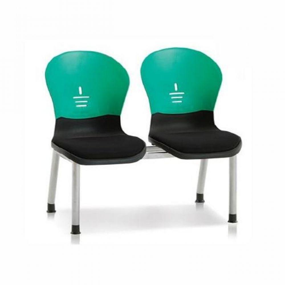 2인용 연결의자 테트라(사출-메쉬) 606 로비의자 휴게실의자 대기실의자 장의자 3인용의자 2인용의자 약국의자 대합실의자