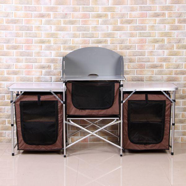 이지캠프 키친 요리 테이블(167 70cm) 캠핑용품 테이블 캠핑테이블 요리테이블 키친테이블