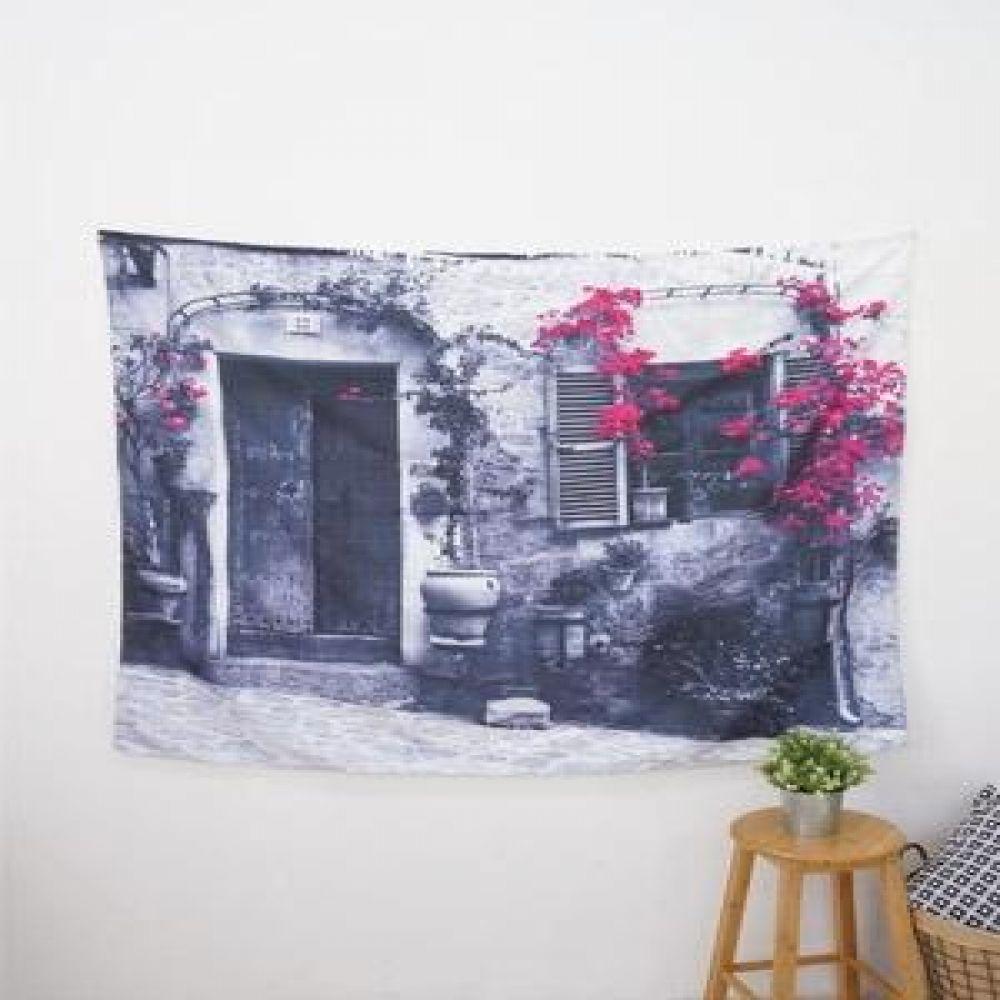 태피스트리 (창문) 벽장식소품 천포스터 벽걸이소품 가리개 인테리어소품