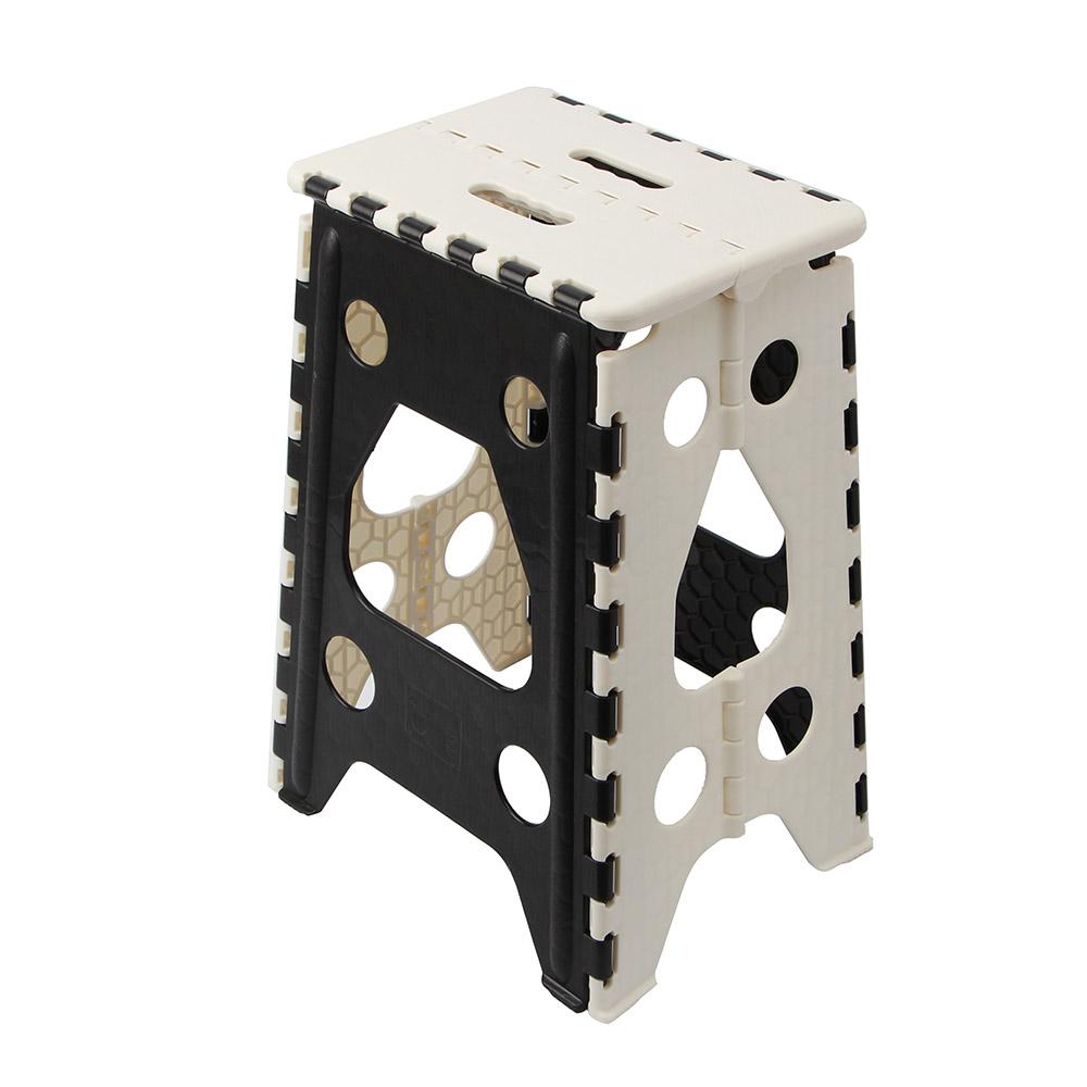 사각 접이식 의자 블랙 L 폴딩의자체어 보조의자 간이플라스틱접이식의자 폴딩의자체어 욕실의자 접이식플라스틱캠핑의자 캠핑의자