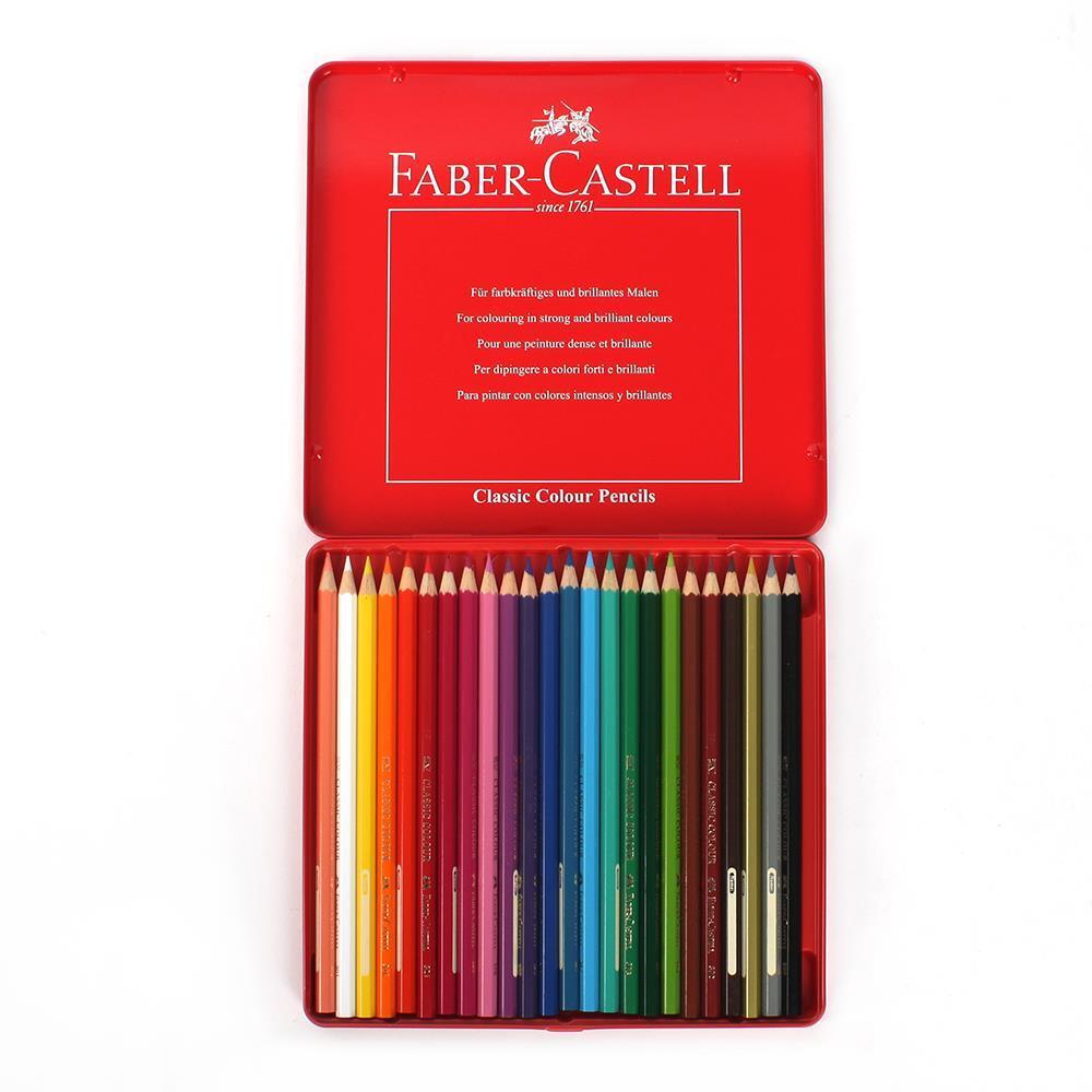 틴케이스 색연필세트 24색 색연필 수채 파스텔 색칠공부 학습용색연필 전문가용색연필 파스텔 크레파스