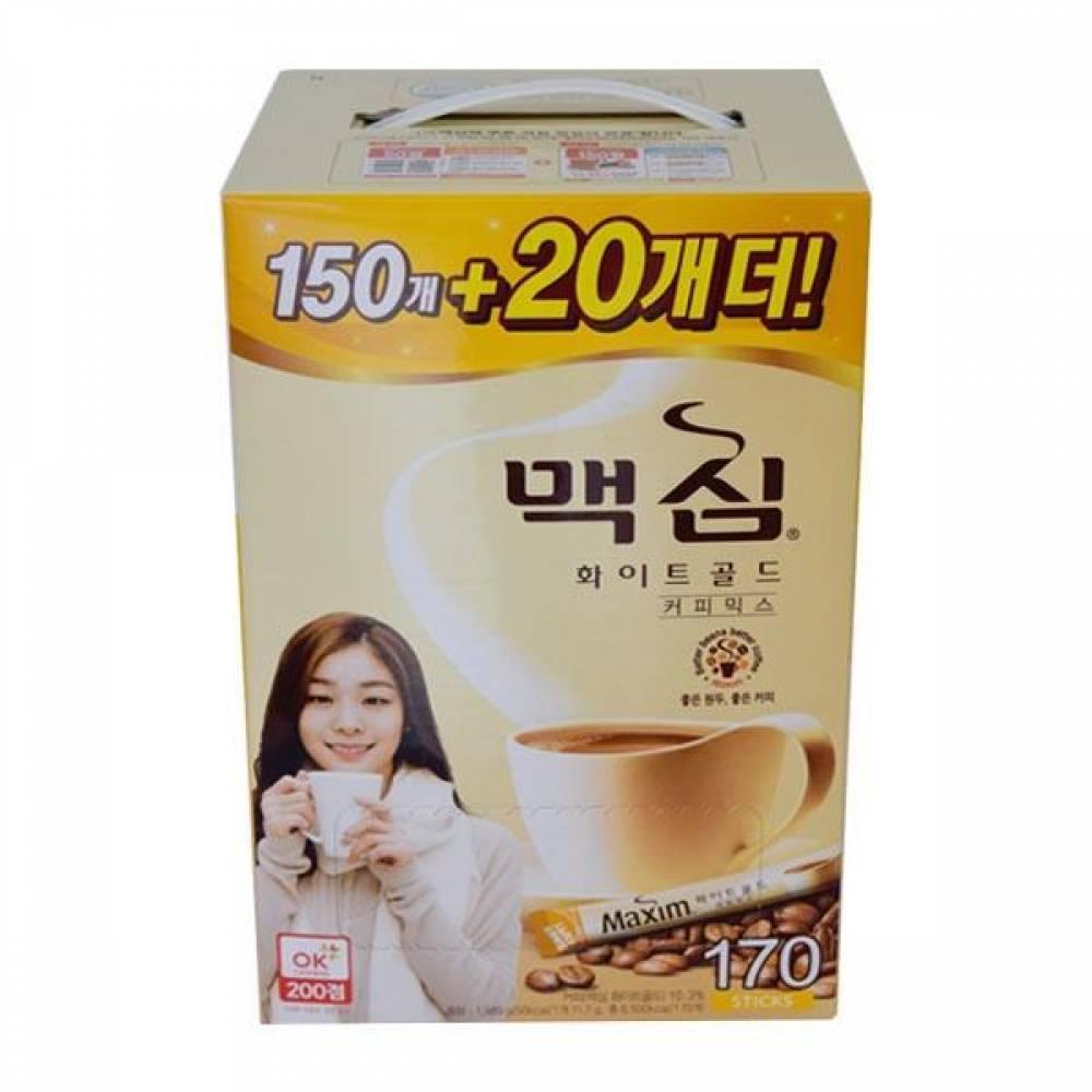 맥심 화이트골드 170개입 커피 커피믹스 동서식품 맥심 가공식품