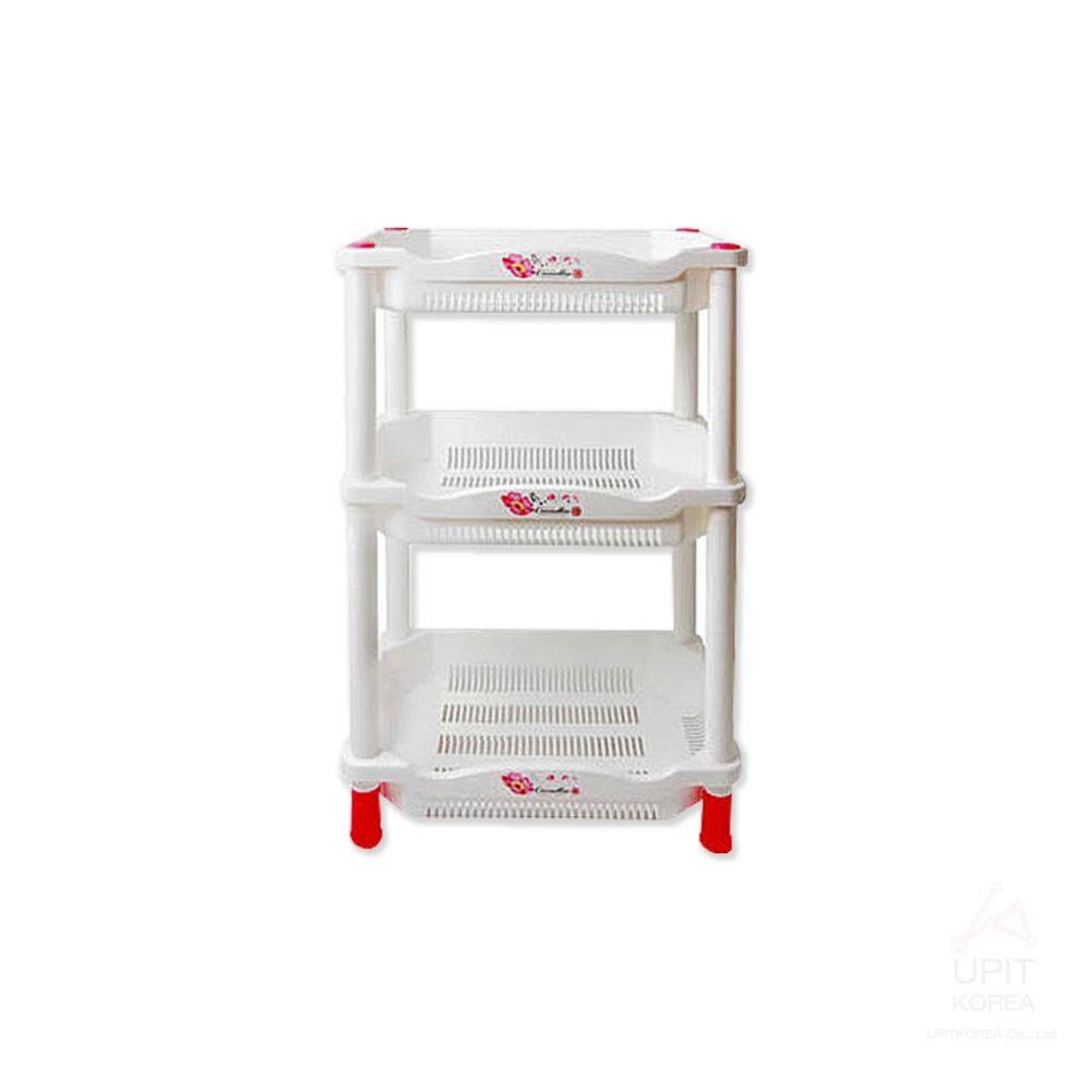 GM)스탠드 사각선반-3단_3724 생활용품 가정잡화 집안용품 생활잡화 잡화