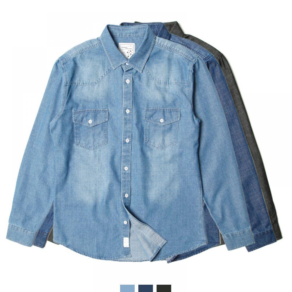 커플시밀러룩 빅사이즈 체스트 워싱 청남방 커플셔츠 커플시밀러룩 커플룩 시밀러룩 커플셔츠 커플남방 웨딩촬영커플룩 남자셔츠 여자셔츠 남자청남방 여자청남방