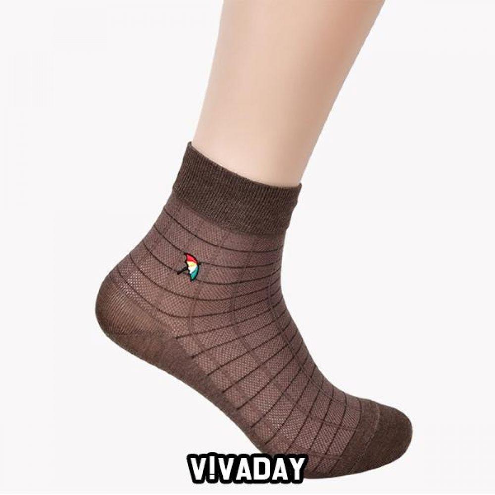 VIVADAY-YS35 양말세트 로고자수 신사 5켤레혼합 양말 양말선물 양말선물세트 선물 명절선물 지인선물 신사양말 숙녀양말 여성양말 남성양말