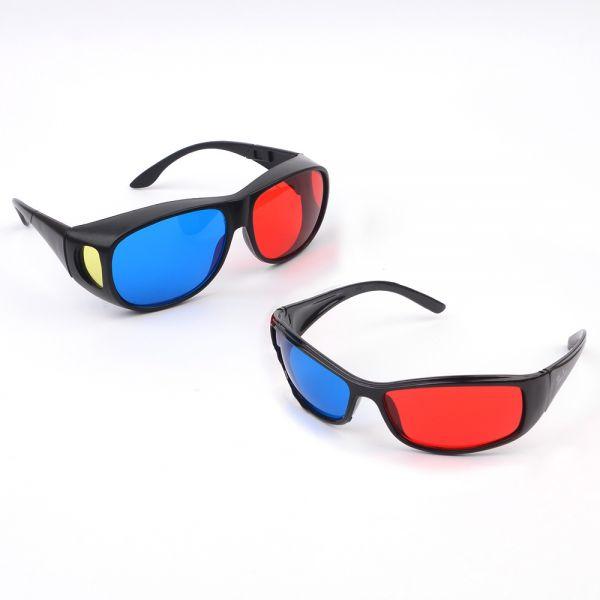 3D 입체안경 일반형/고글형 쓰리디안경 쓰리디 3d안경 3D안경 3D입체안경 입체안경 적청안경 에너글리프