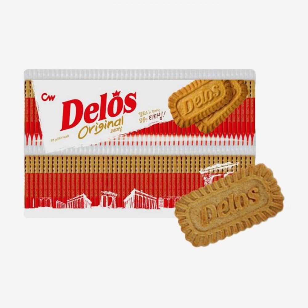 청우 비스켓 델로스 오리지날 630g 1박스 청우식품 간식 주전부리 스낵 과자 캔디 비스켓 델로스