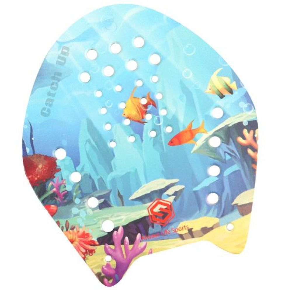 SGL-PD06-언더더씨 SD7 그래픽 캐치업패들 수영용품 수영패들 수영장용품 수중운동용품 수영헬퍼