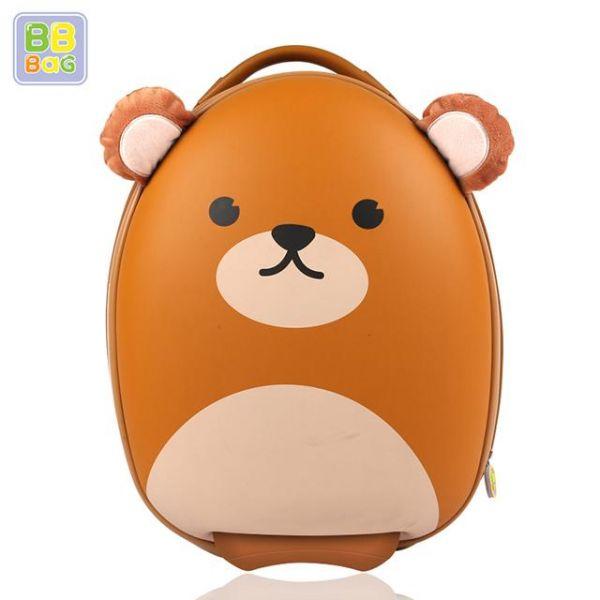 캐리어 곰 비비백 캐릭터가방 윌리엄가방 생일선물 유치원 유아가방 아동가방 백팩 미아방지용 캐리어