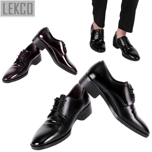 [LEKCO] 남성정장 구두 더비 베이직 굽 4cm 키높이 LK-180014 정장구두 신사화 수제화 수제구두 남자신발
